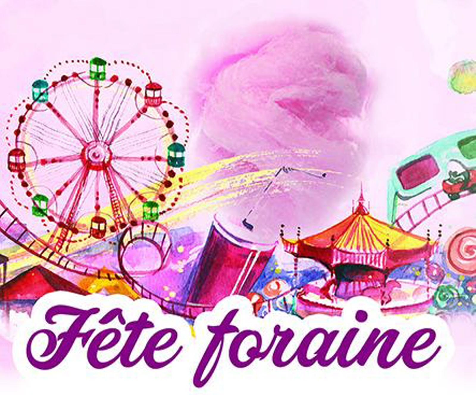 Fête Foraine À Rochefort - Mesrendezvousbonsplans tout Dessin De Fete Foraine