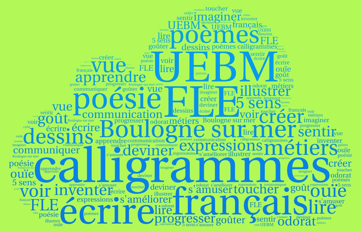 Fiche Pédagogique – Calligrammes « Les 5 Sens pour Fiche Pédagogique Les 5 Sens