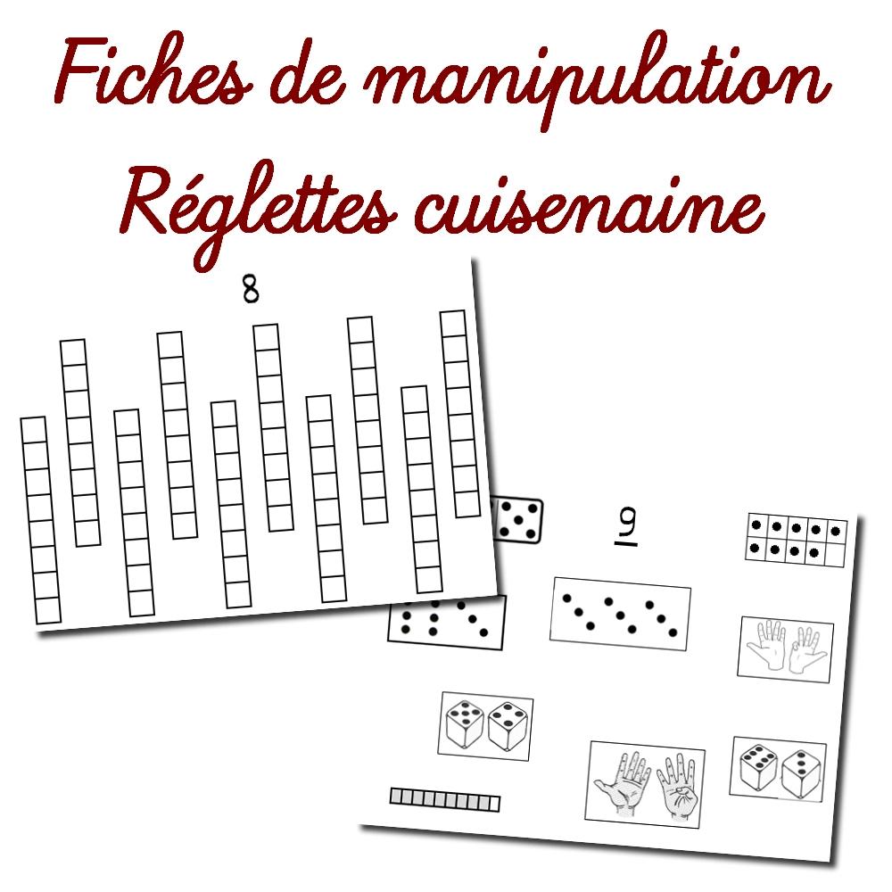 Fiches De Manipulation – Réglettes Cuisenaire tout Fiche D Exercice Grande Section A Imprimer