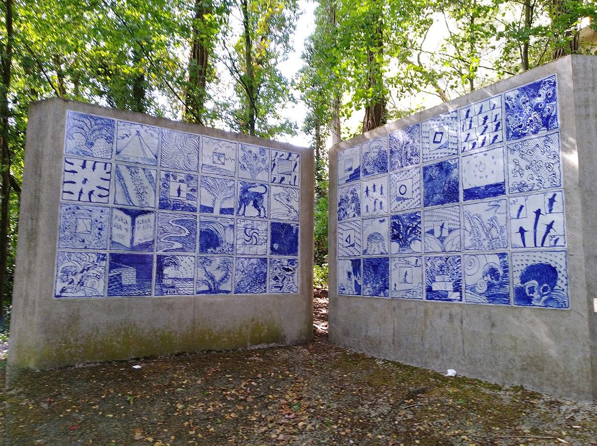 Fichier:album Et Bleu (Pierre Alechinsky) — Wikipédia pour Oeuvre Alechinsky