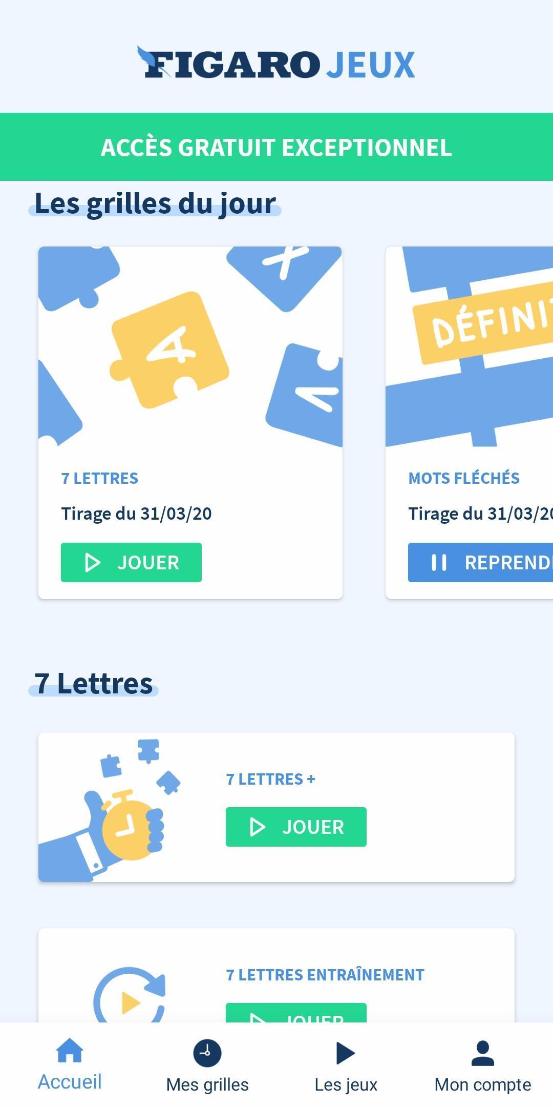 Figaro Jeux For Android - Apk Download dedans Jeux De Lettres Gratuits