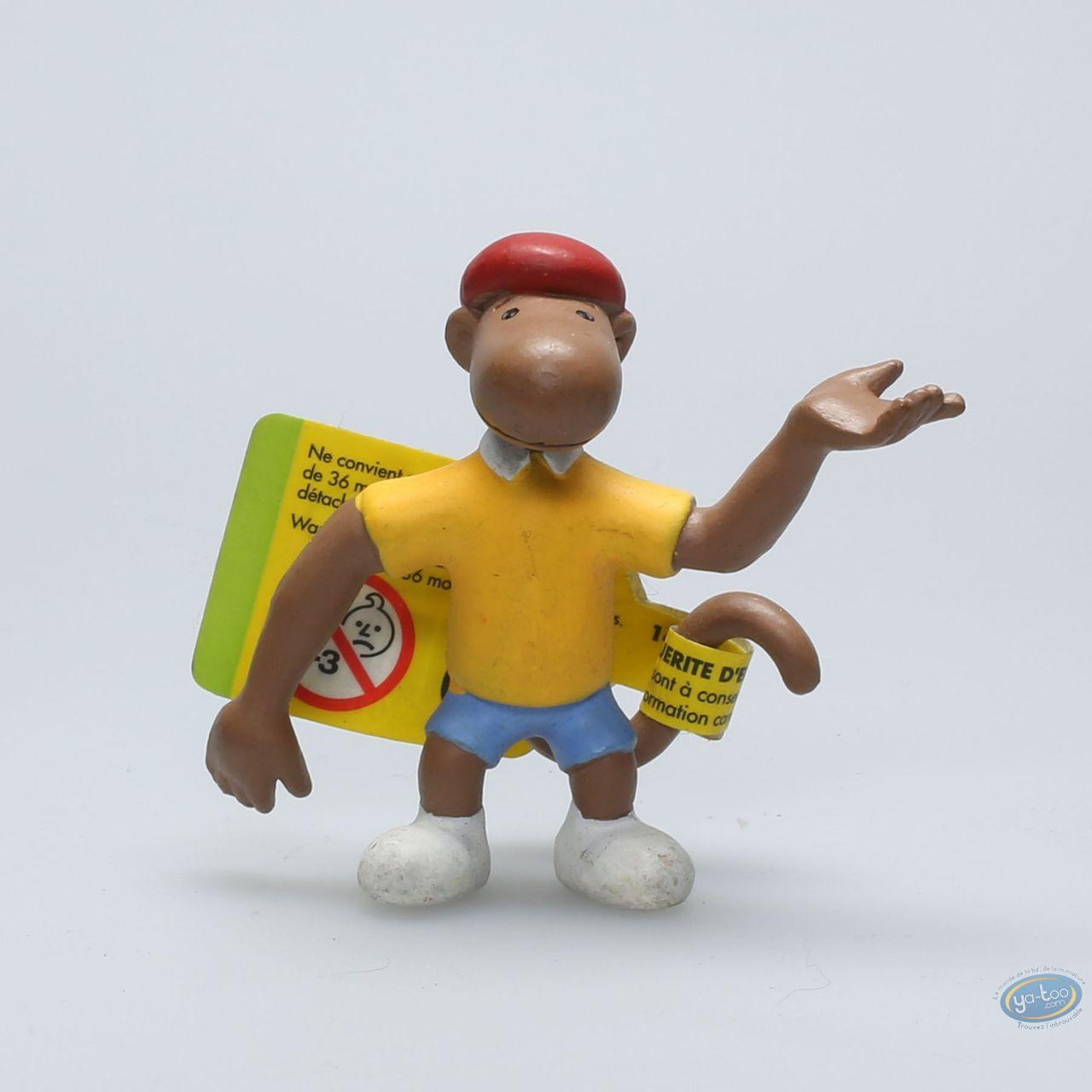 Figurine Plastique, Babar : Zéphir Le Singe tout Singe De Babar