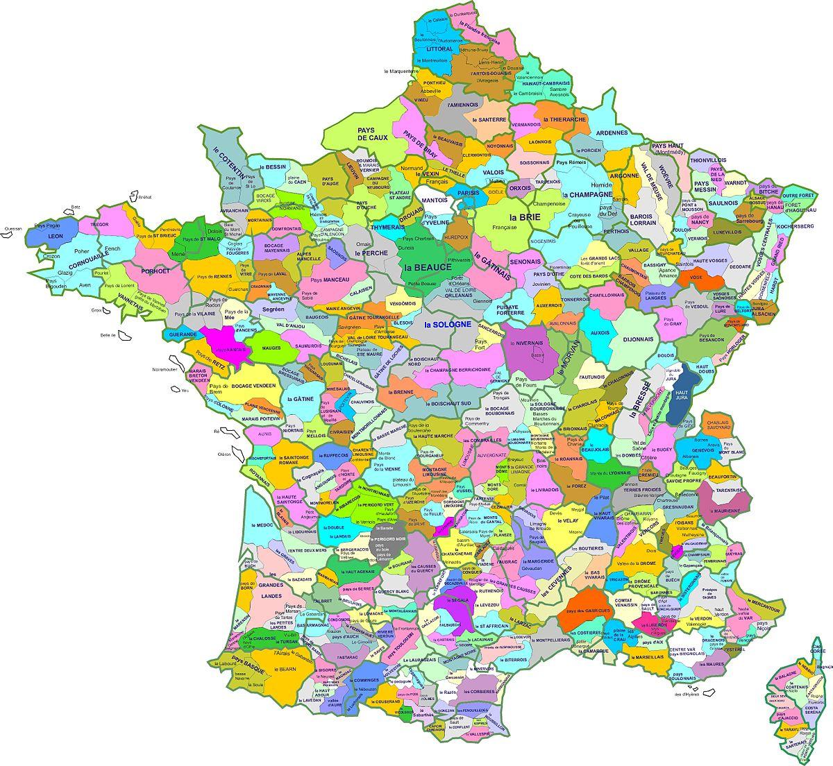 File:carte Region Naturelle - Wikimedia Commons intérieur Imprimer Une Carte De France