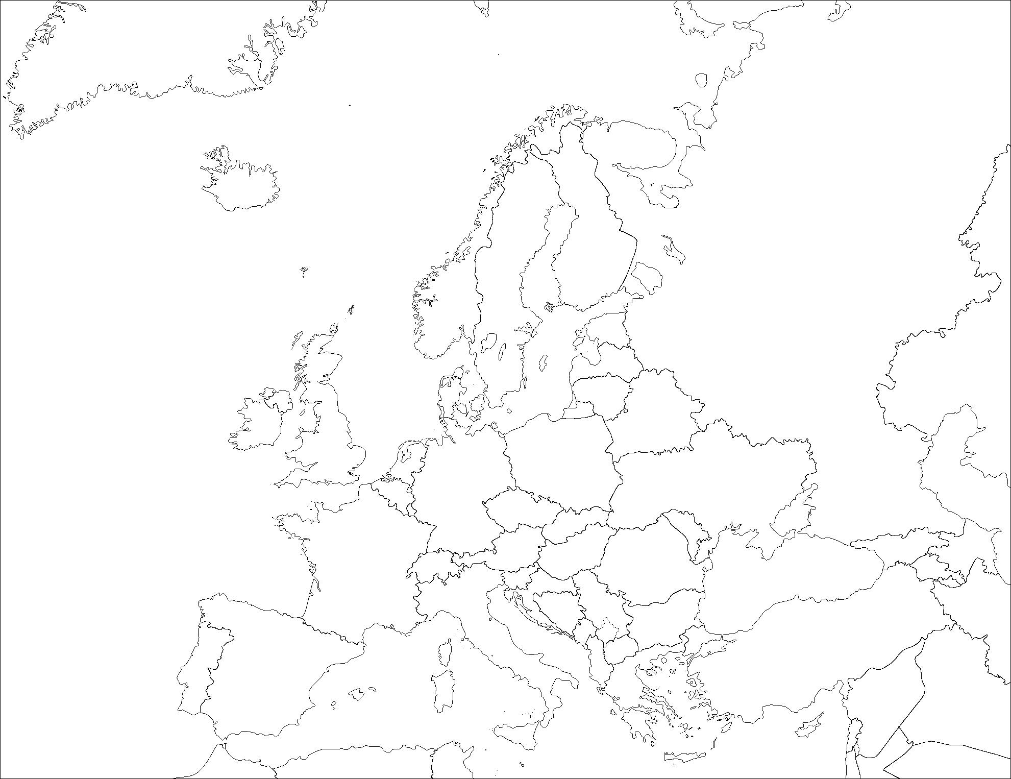 File:europe (Fond De Carte) - Wikimedia Commons dedans Union Européenne Carte Vierge