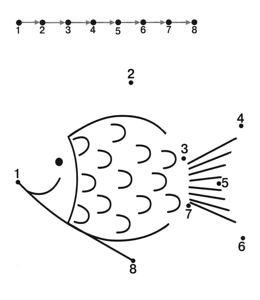 Fish Dot To Dot Worksheets   Kids Under 7: Free Dot To Dot dedans Point À Relier Alphabet