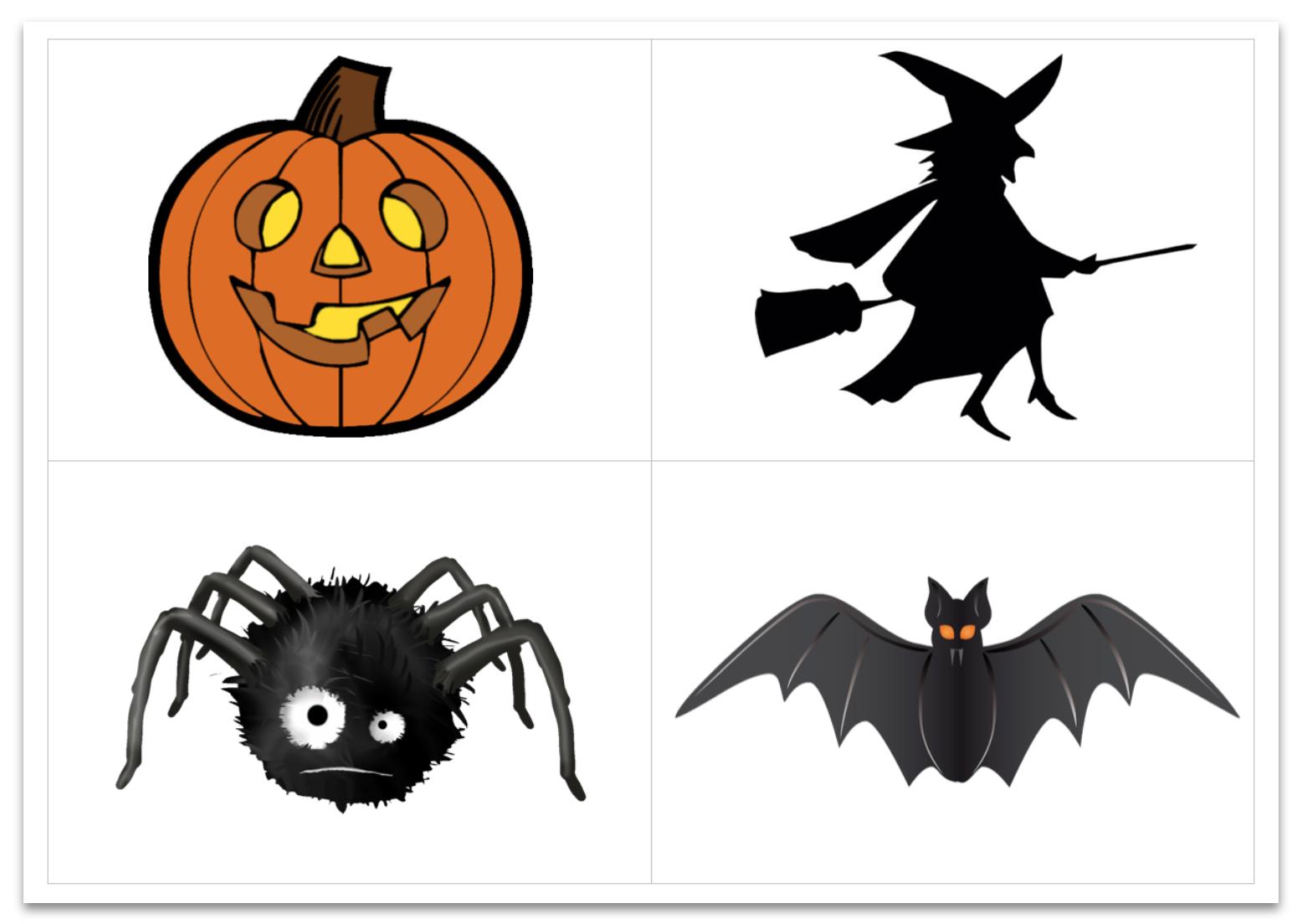 Flashcards Halloween – Le Blog Du Cancre concernant Halloween Ce2