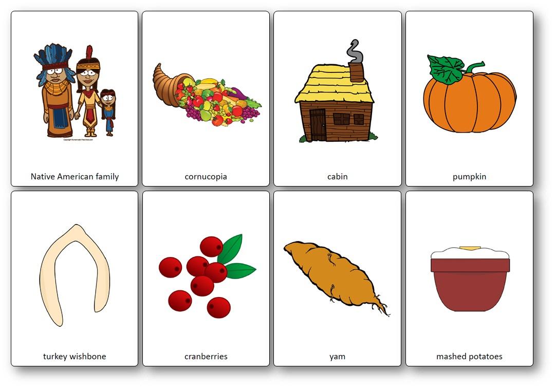 Flashcards Sur Le Thème De Thanksgiving En Anglais - Imagier encequiconcerne Frere Jacques Anglais