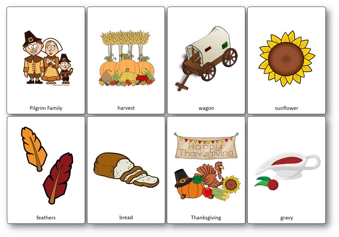 Flashcards Sur Le Thème De Thanksgiving En Anglais - Imagier serapportantà Frere Jacques Anglais