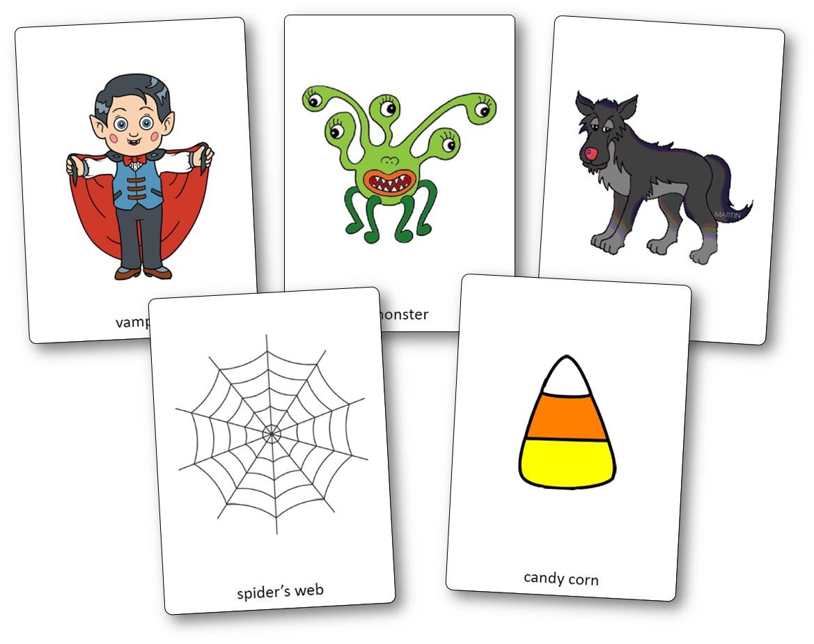 Flashcards Sur Le Thème D'halloween En Anglais - Flashcards avec Halloween Ce2