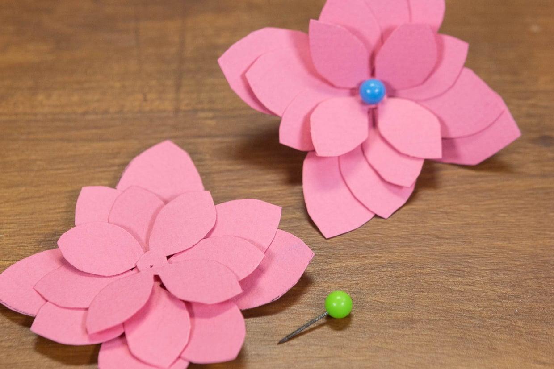 Fleur En Papier : Comment En Fabriquer encequiconcerne Realisation Papier Crepon