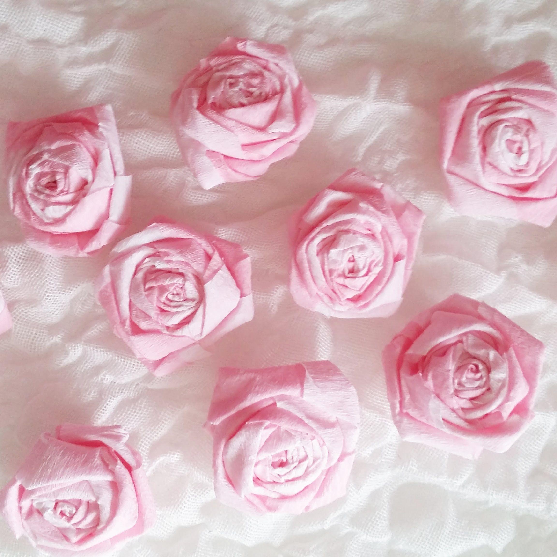 Fleur En Papier Crépon -  | Fleur Papier Crepon, Tuto encequiconcerne Realisation Papier Crepon