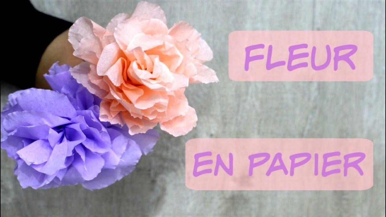 Fleur En Papier Crépon Très Facile ! dedans Realisation Papier Crepon