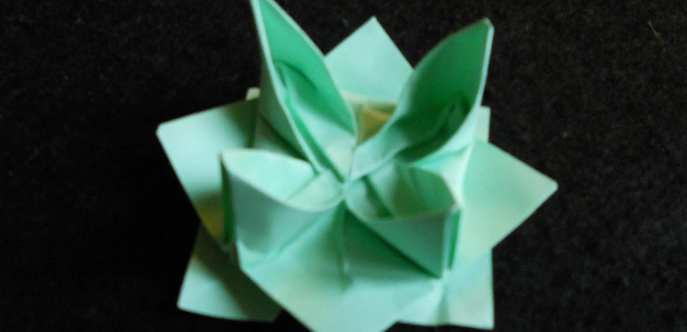 Fleurs - Faire Origami à Origami Rose Facile A Faire