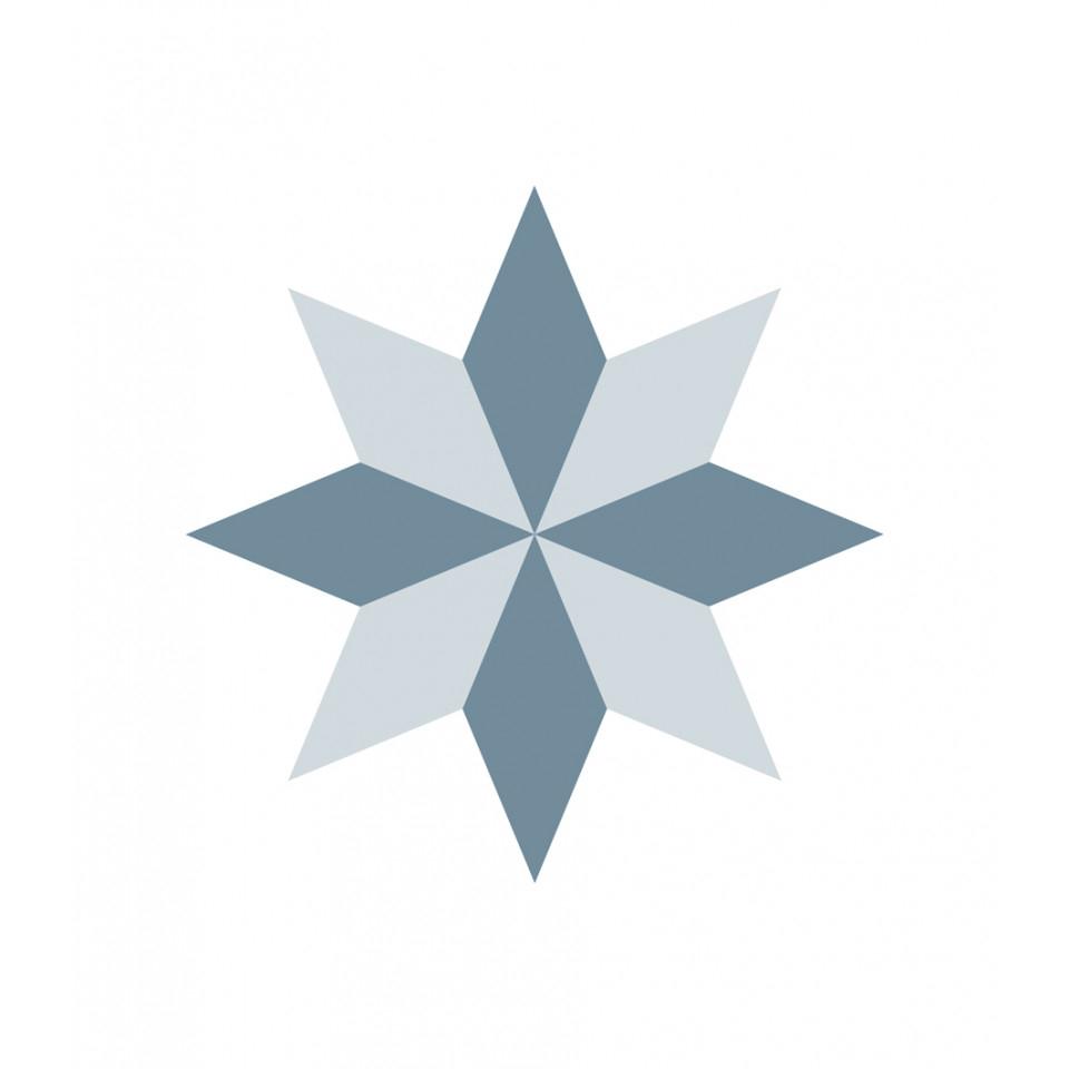 Fliesenaufkleber Diamond Rosace pour Image De Rosace