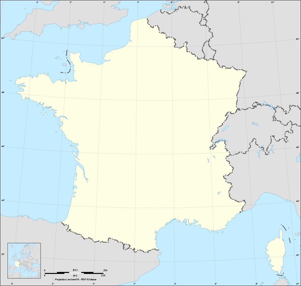 Fond De Carte De France Vierge avec Imprimer Une Carte De France