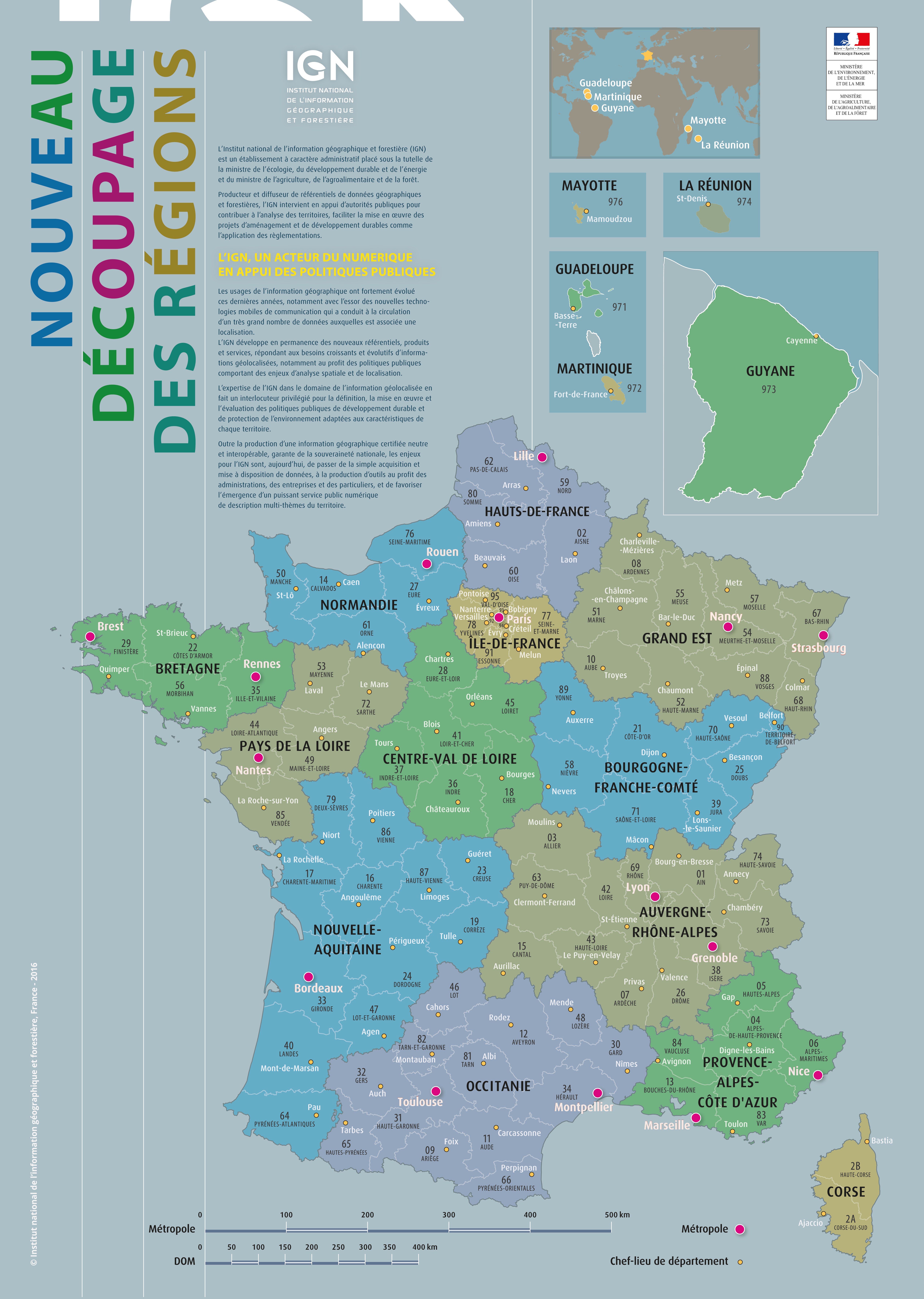 Fonds De Cartes | Éducation destiné Carte De France Pour Les Enfants