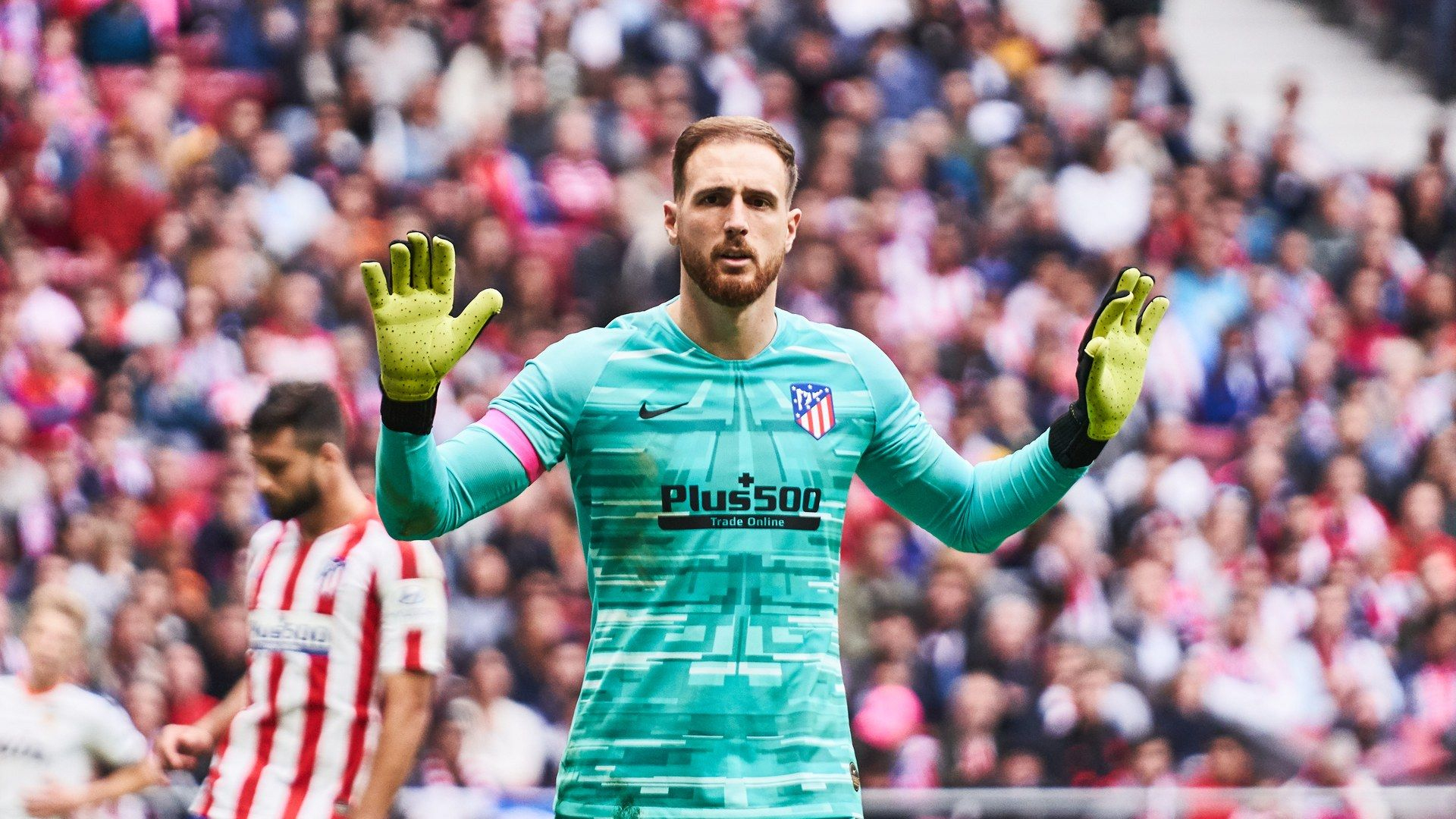 Football : Le Plus Bel Arrêt Du Week-End Est Signé Jan Oblak à Jeux De Foot Gardien De But