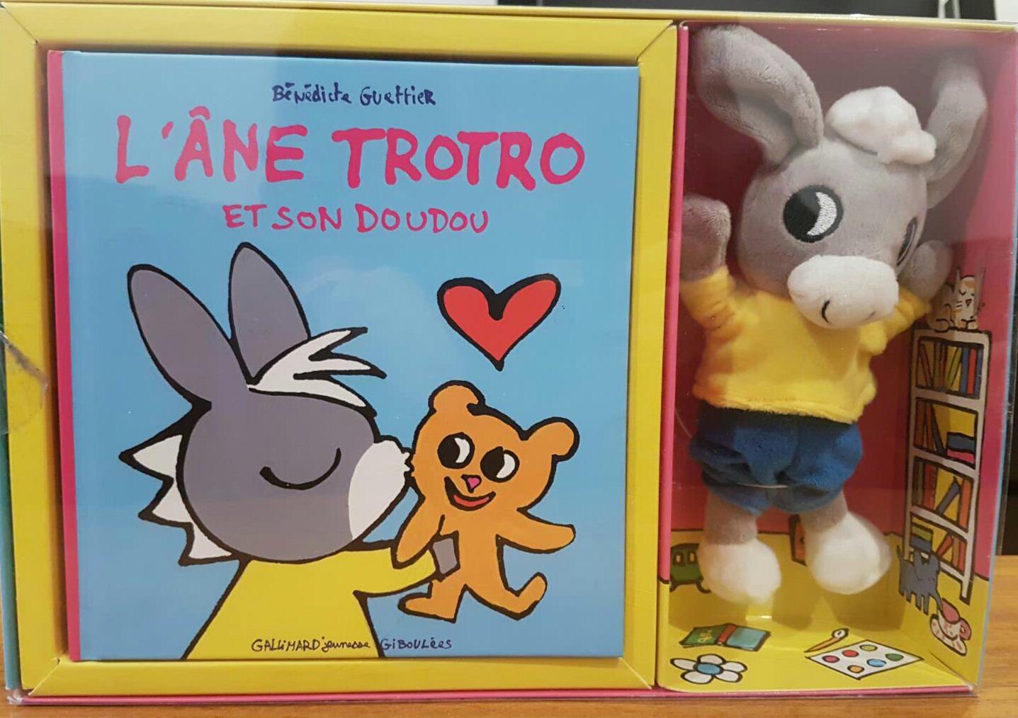 Français Pour Loulous: Le Doudou De Trotro - Trotro's Teddy pour Doudou Ane Trotro