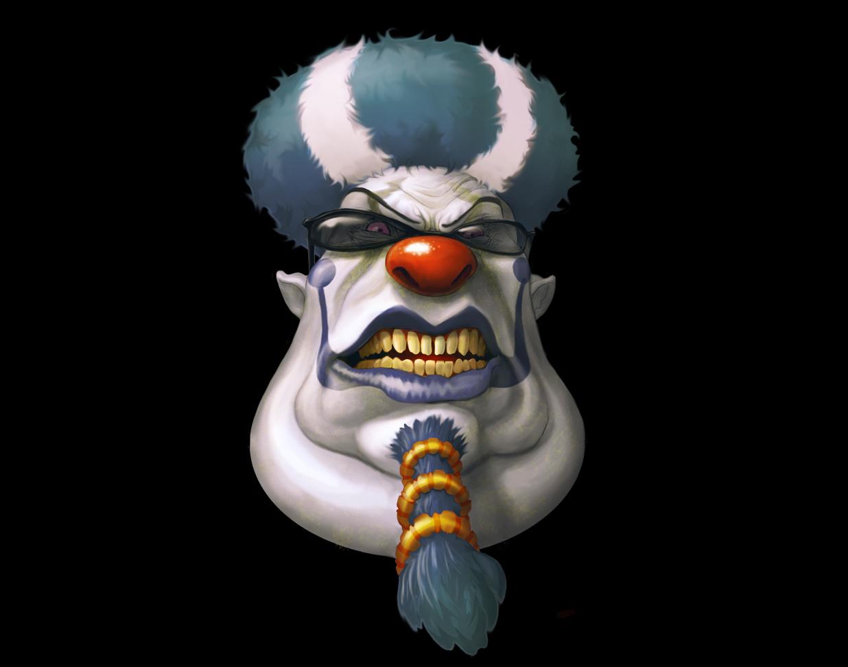 Free Download Evil Clown Wallpaper Submited Images [1236X972 destiné Etoil Clown