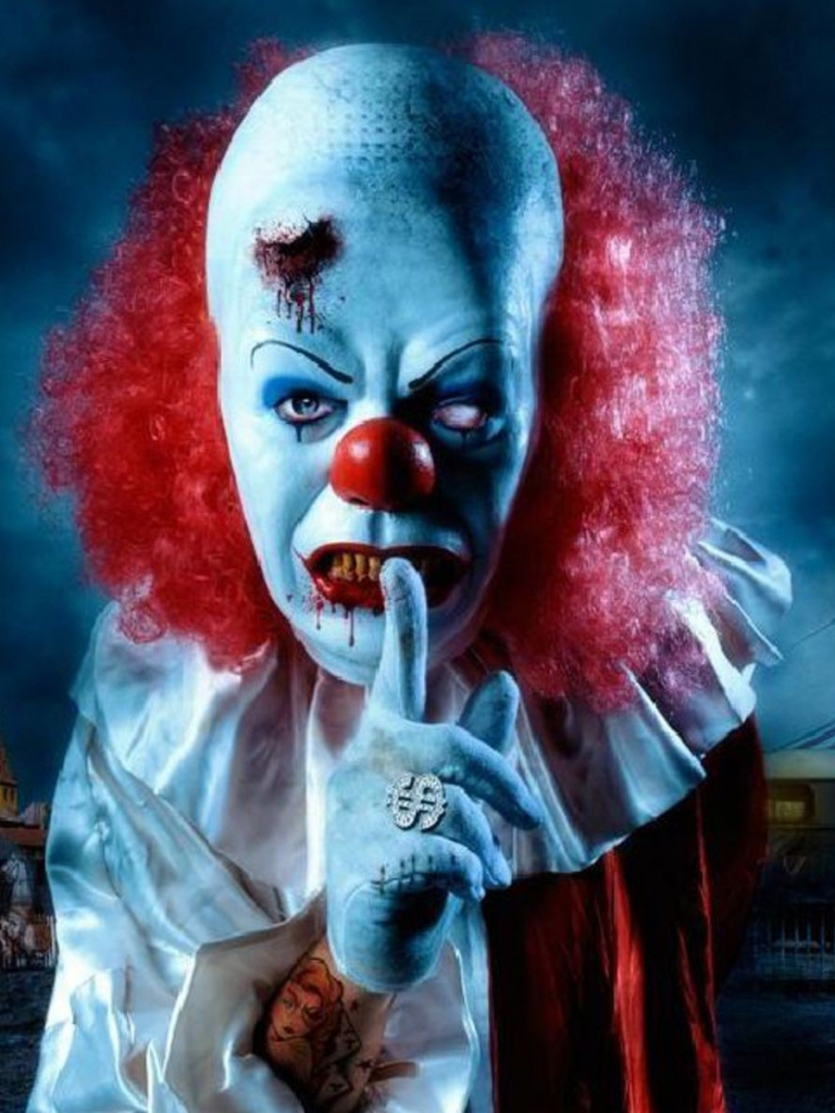 Free Download Pennywise The Clown Wallpaper Hd Wallpapers encequiconcerne Etoil Clown