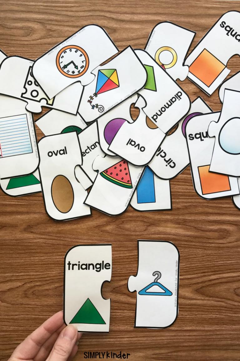 Free Printable 2D Shape Puzzles | Jeux A Imprimer, Activités concernant Puzzle Gratuit Enfant