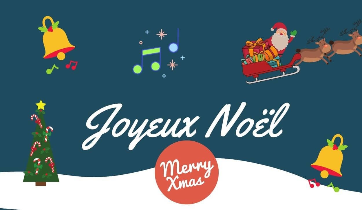 French Christmas Songs - Master Your French intérieur Petit Papa Noel Video