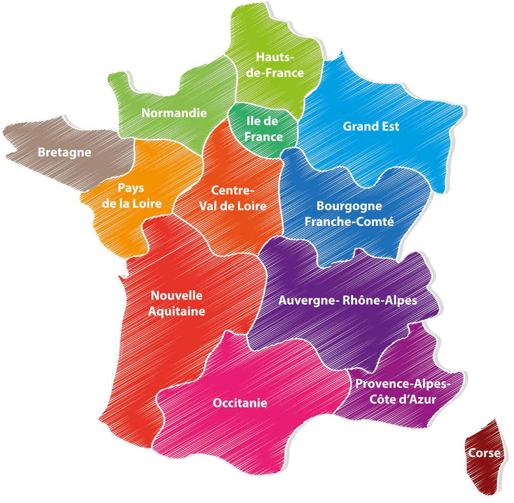 French Regions Changes - Now Time For Us Too! encequiconcerne Nouvelle Region France