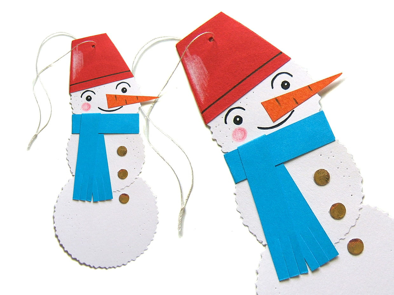 Frosty Le Bonhomme De Neige à Origami Bonhomme De Neige