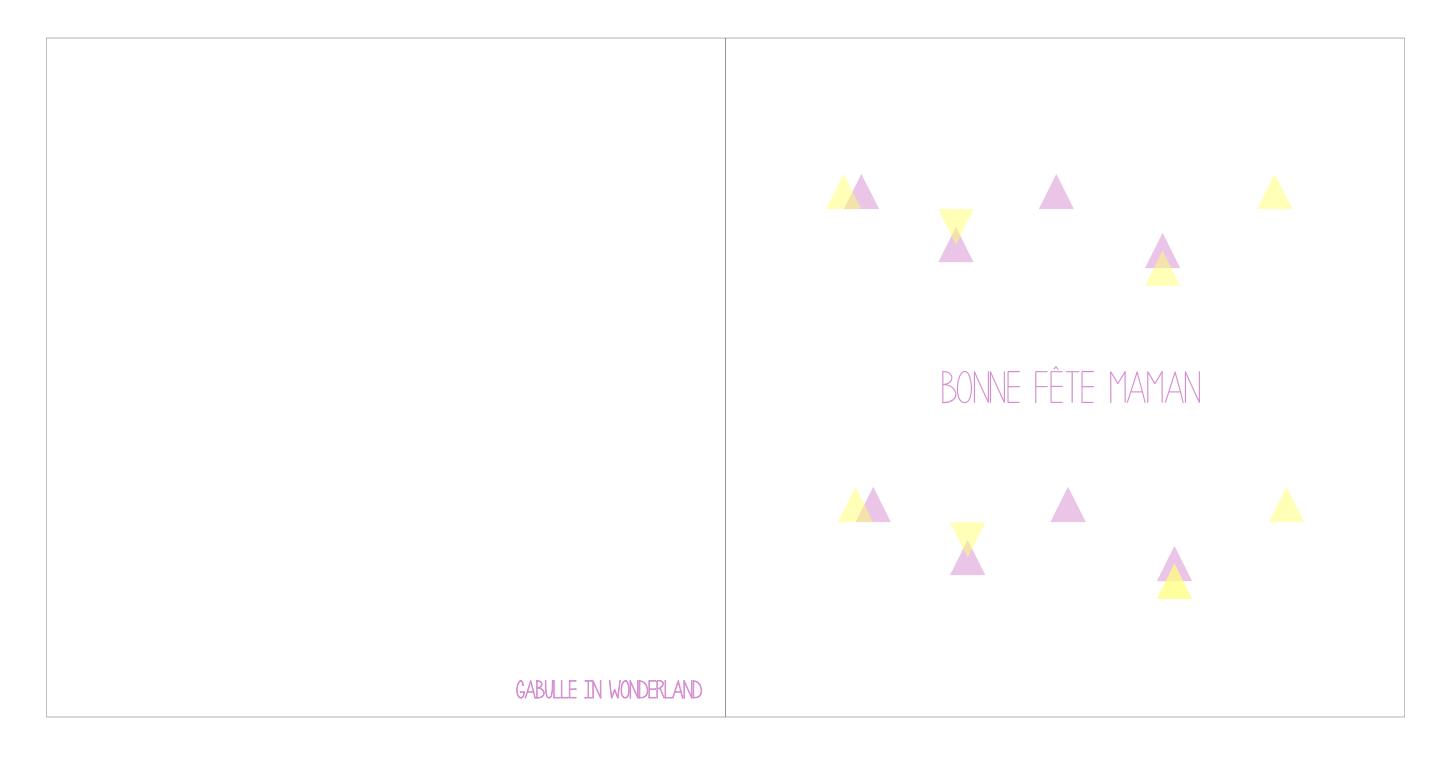 Gabulle In Wonderland: Carte Pour La Fête Des Mères À Imprimer intérieur Carte Bonne Fete Maman A Imprimer