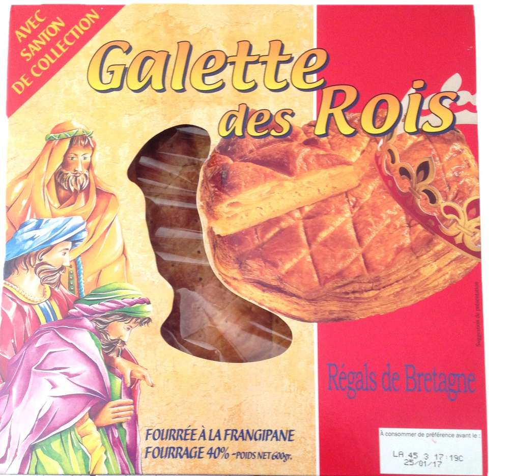 Galette Des Rois Regal De Bretagne à Image De Galette Des Rois