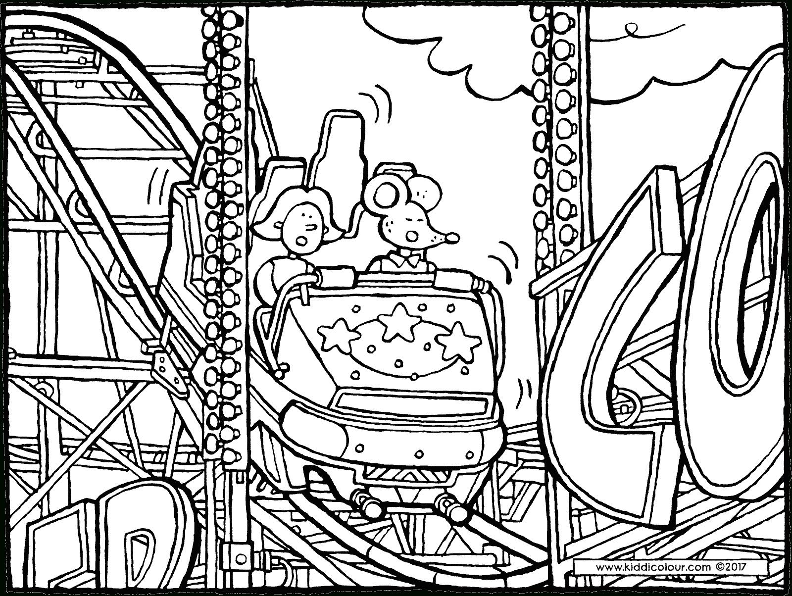 Garçons Kleurprenten - Page 16 Sur 16 - Kiddicoloriage destiné Dessin De Fete Foraine