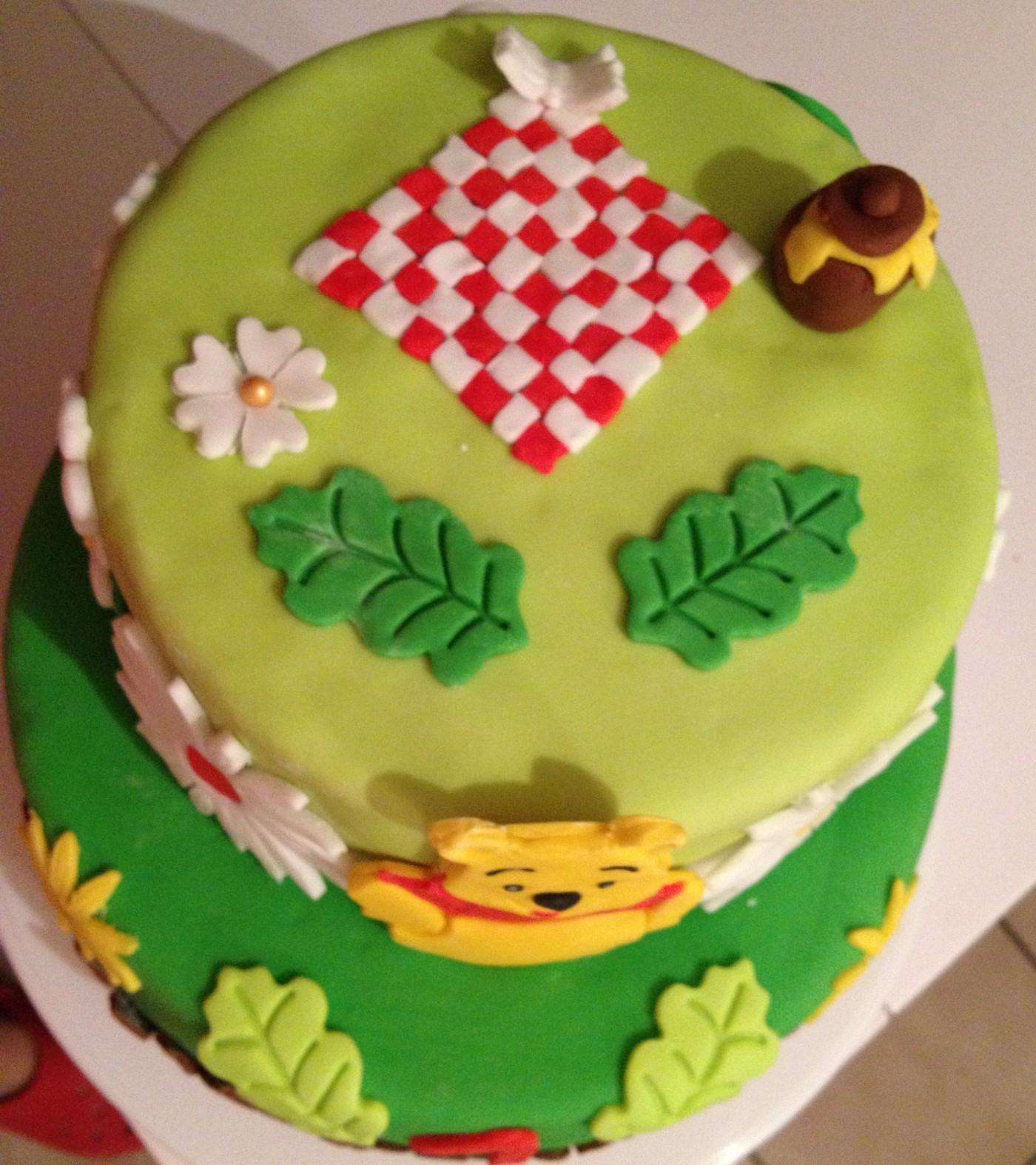 Gâteau D'anniversaire Winnie L'ourson (Blog Zôdio) intérieur Gateau Anniversaire Winnie L Ourson