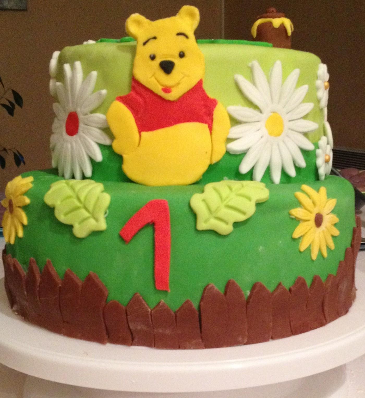 Gâteau D'anniversaire Winnie L'ourson (Blog Zôdio) serapportantà Gateau Anniversaire Winnie L Ourson