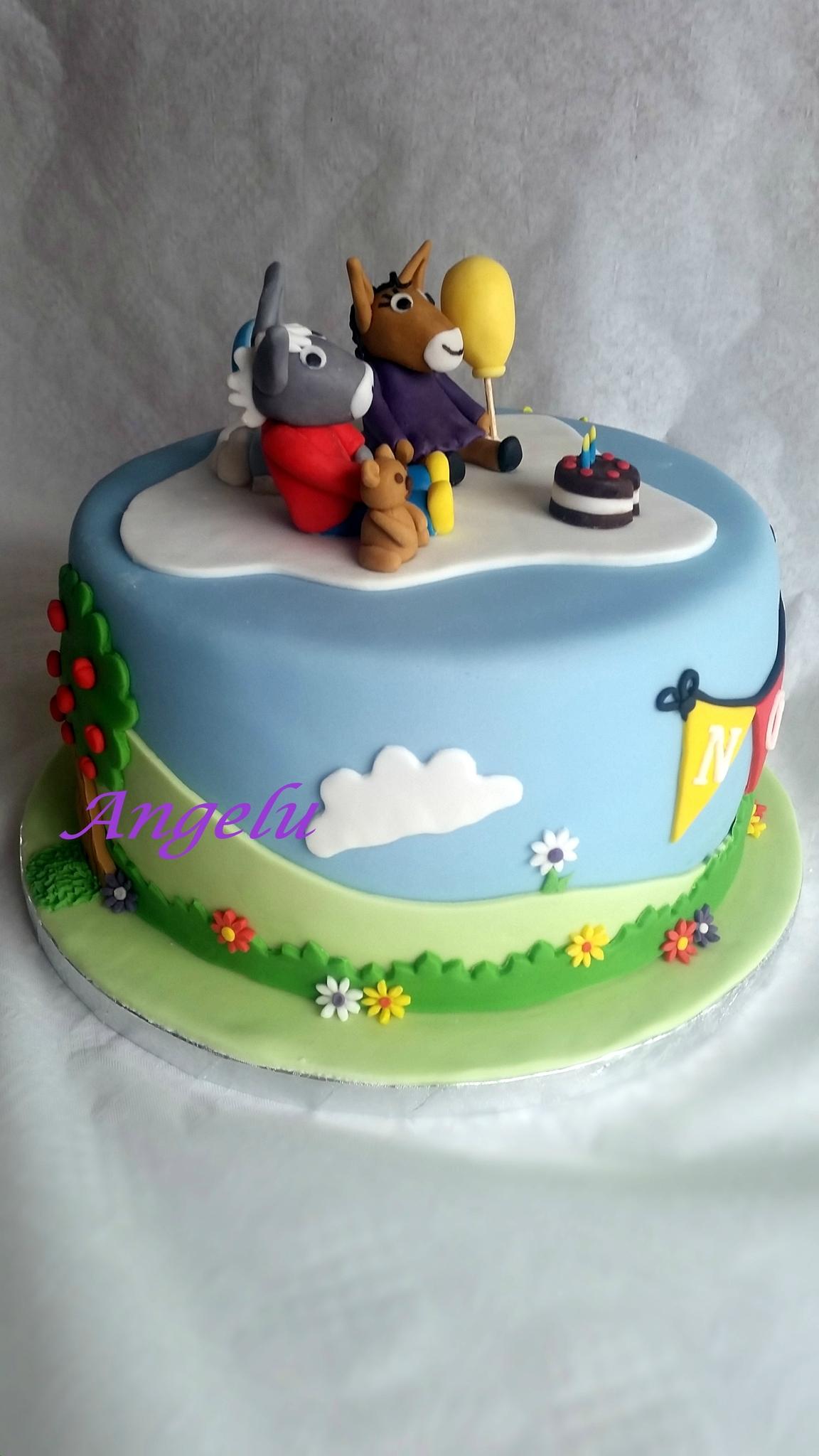 Gâteau Trotro, Nana Et Doudou - Ma Petite Patisserie encequiconcerne Doudou Ane Trotro