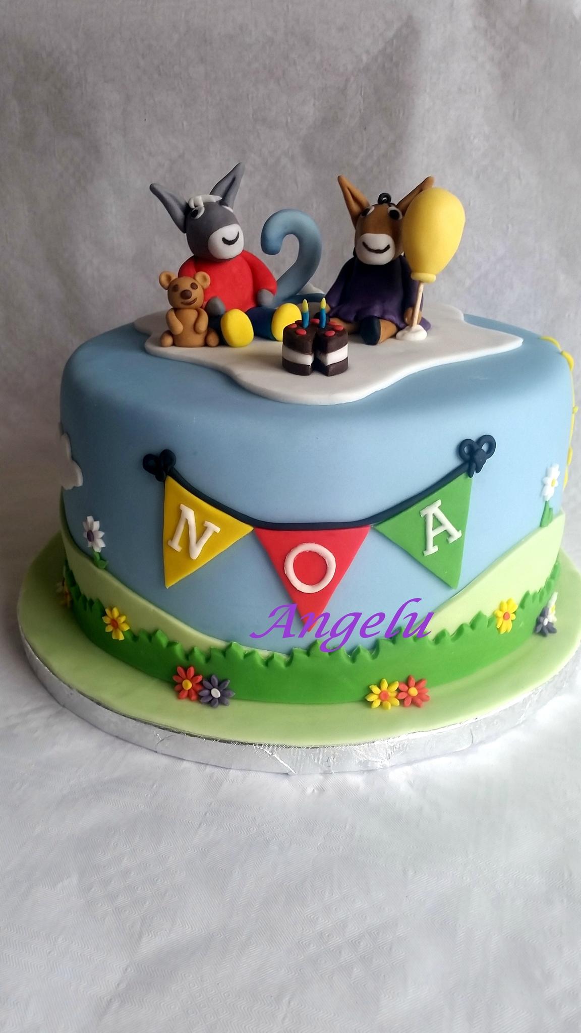 Gâteau Trotro, Nana Et Doudou - Ma Petite Patisserie intérieur Doudou Ane Trotro