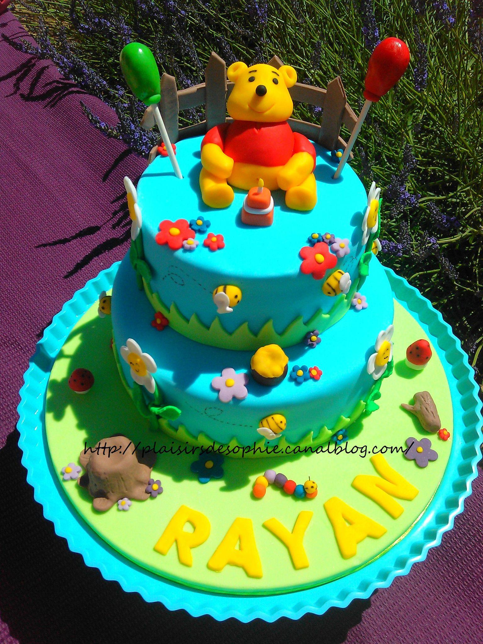 Gâteau Winnie L'ourson ! - Les Petits Plaisirs De Sophie à Gateau Anniversaire Winnie L Ourson