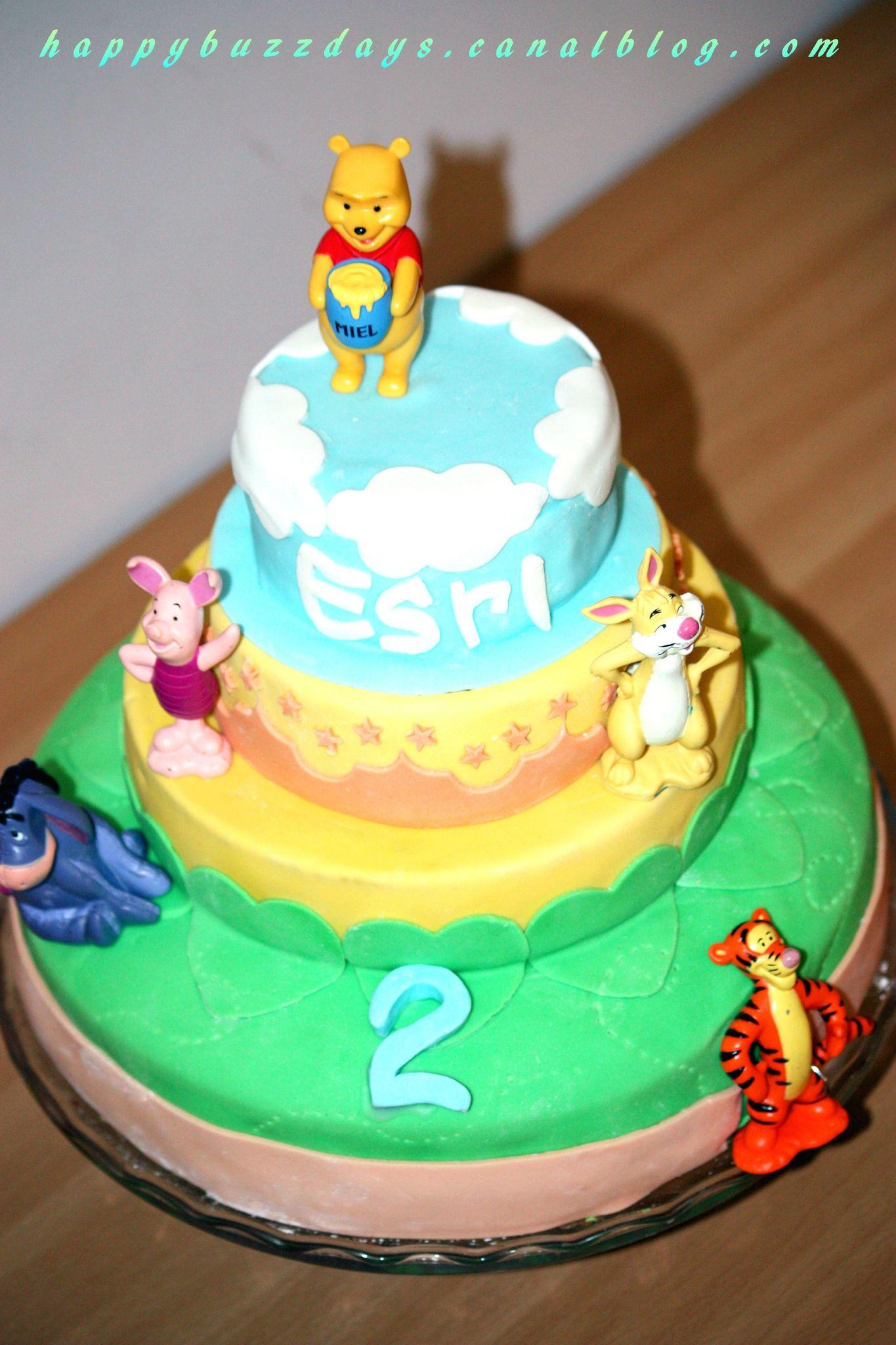 Gâteau Winnie L'ourson: Pâte À Sucre Et My Wondercake avec Gateau Anniversaire Winnie L Ourson