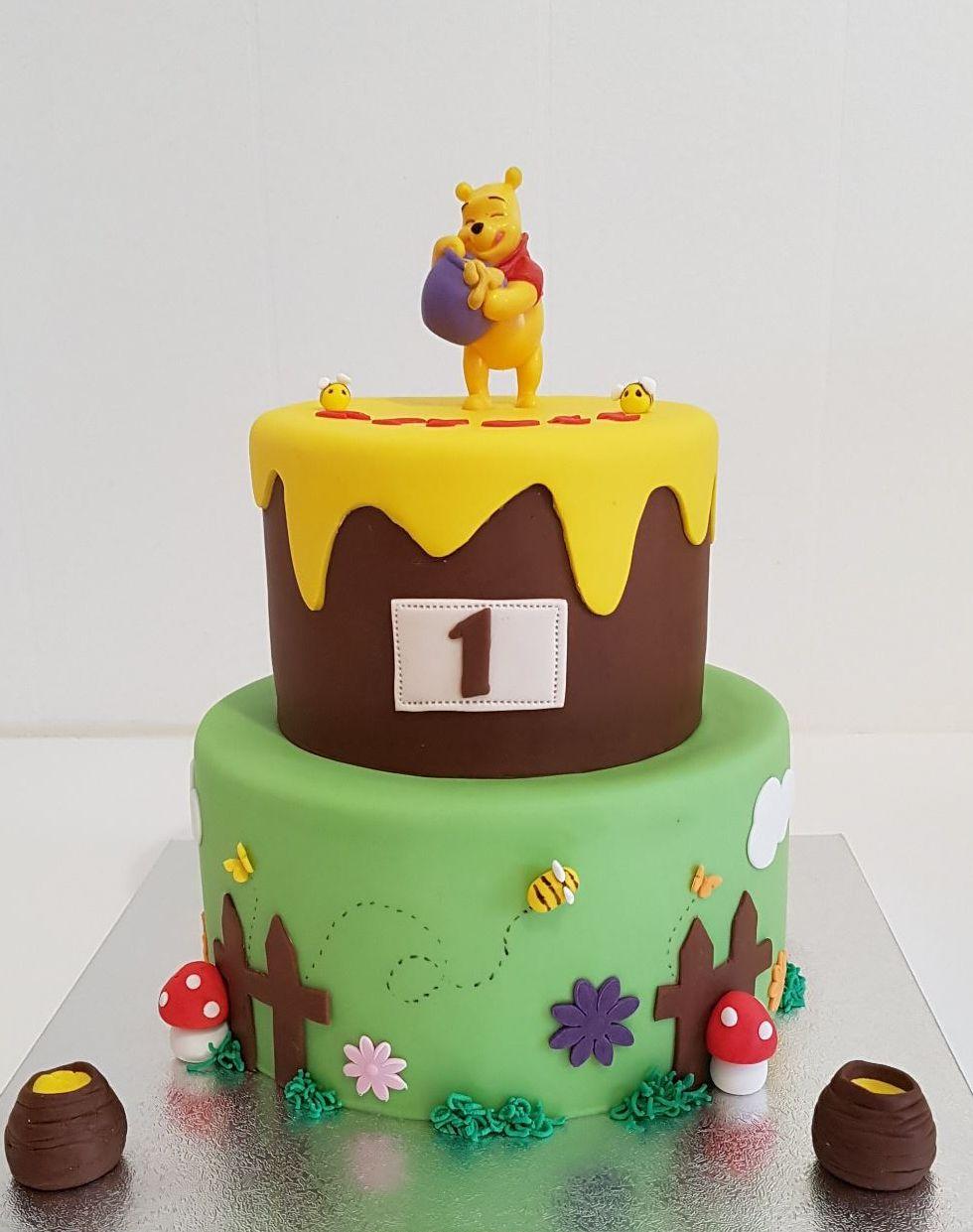 Gâteau Winnie L'ourson Pour Anniversaire - Puzzle It serapportantà Gateau Anniversaire Winnie L Ourson