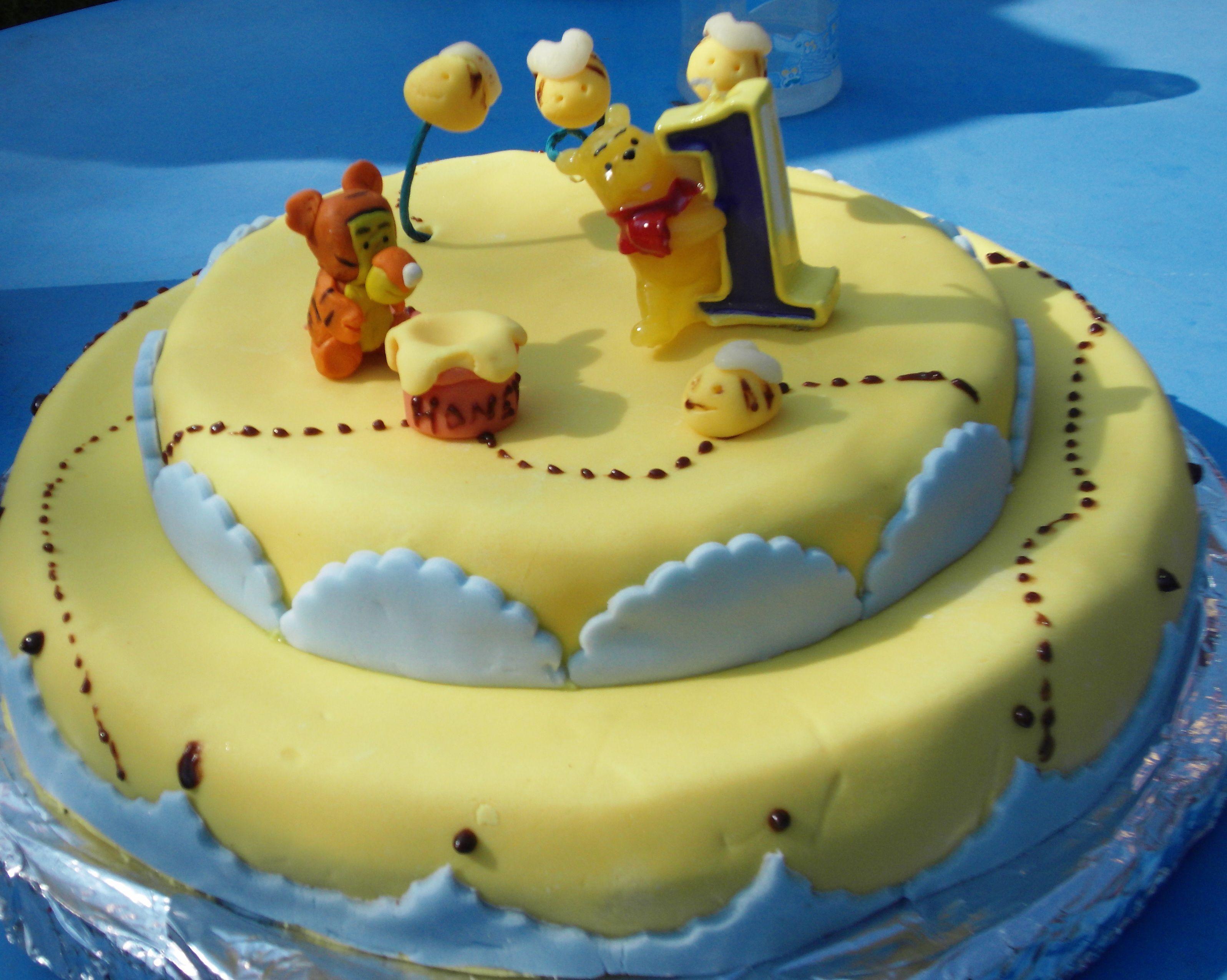 Gâteau Winnie L'ourson pour Gateau Anniversaire Winnie L Ourson