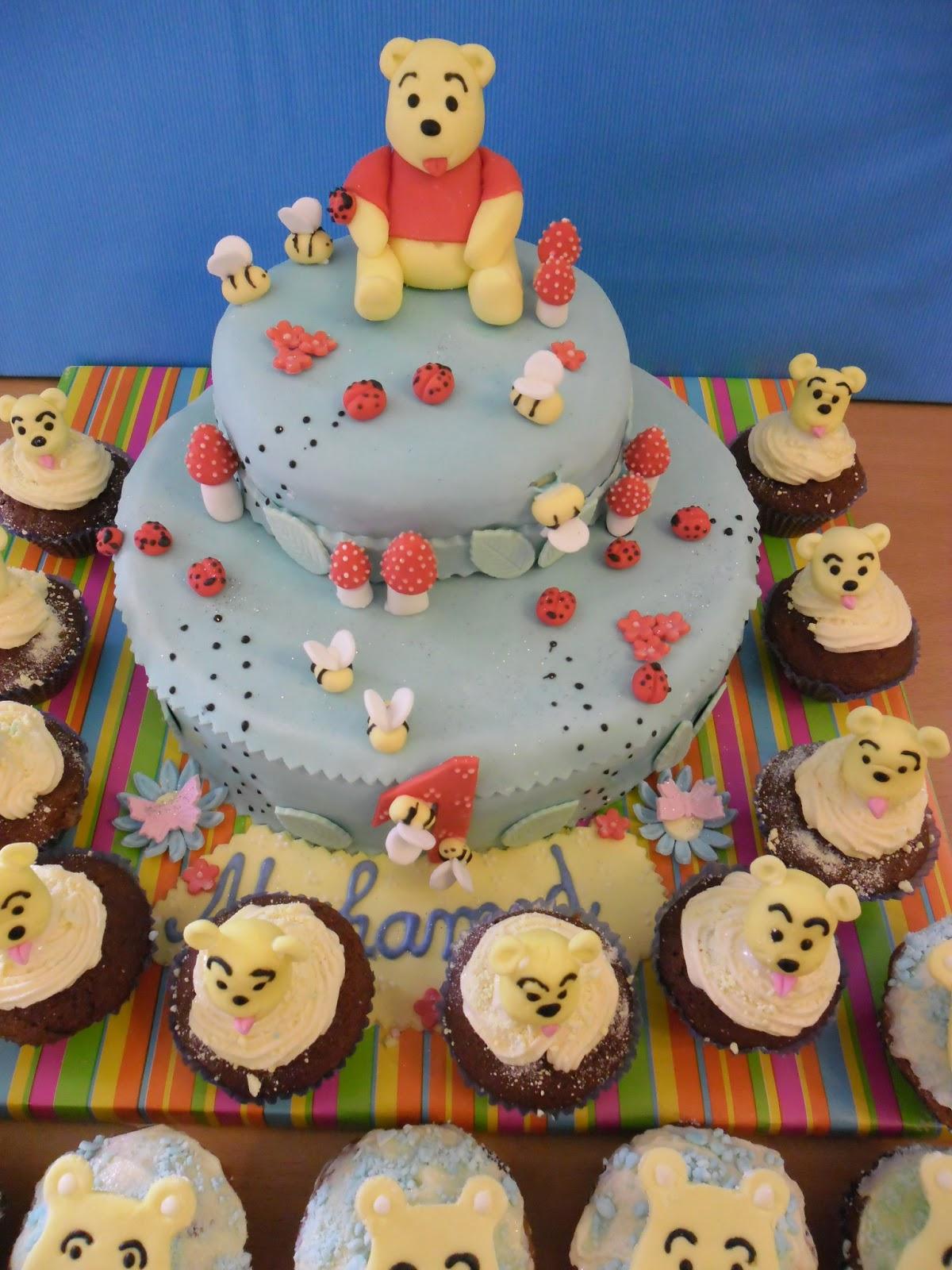Gateaux D'aline: Gâteau D'anniversaire Winni L'ourson pour Gateau Anniversaire Winnie L Ourson