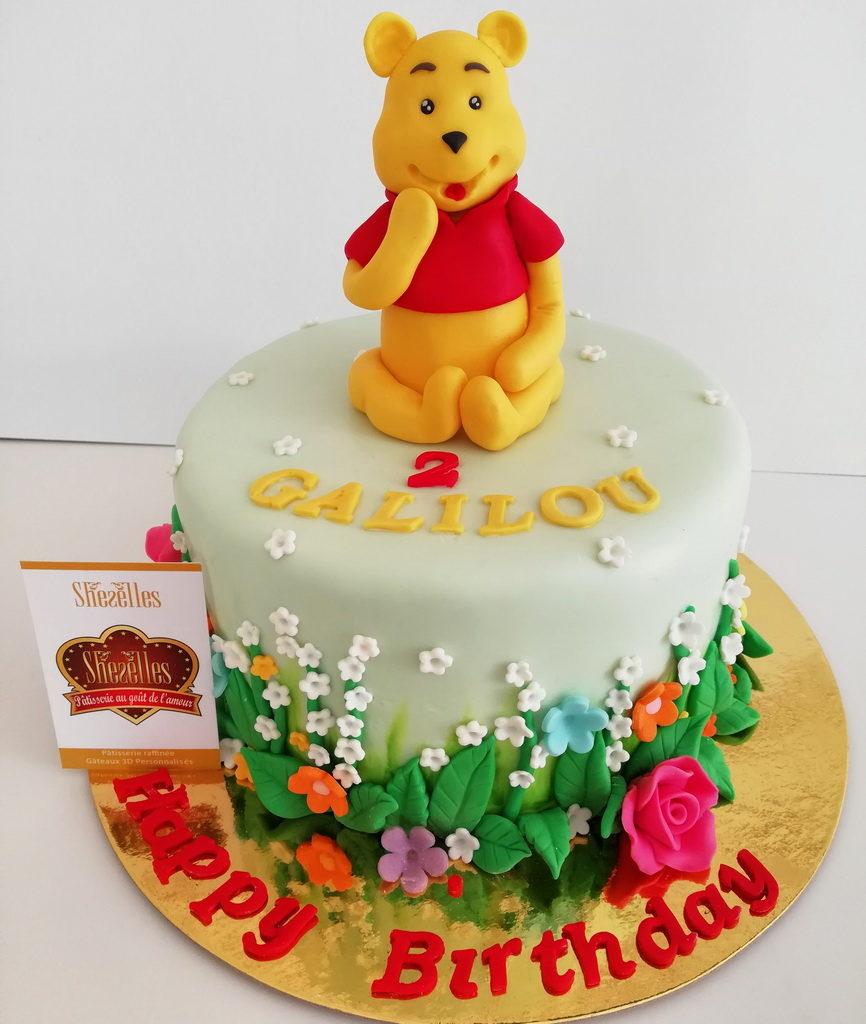 Gâteaux Winnie Ourson 3D | Pâtisserie Sheselles avec Gateau Anniversaire Winnie L Ourson
