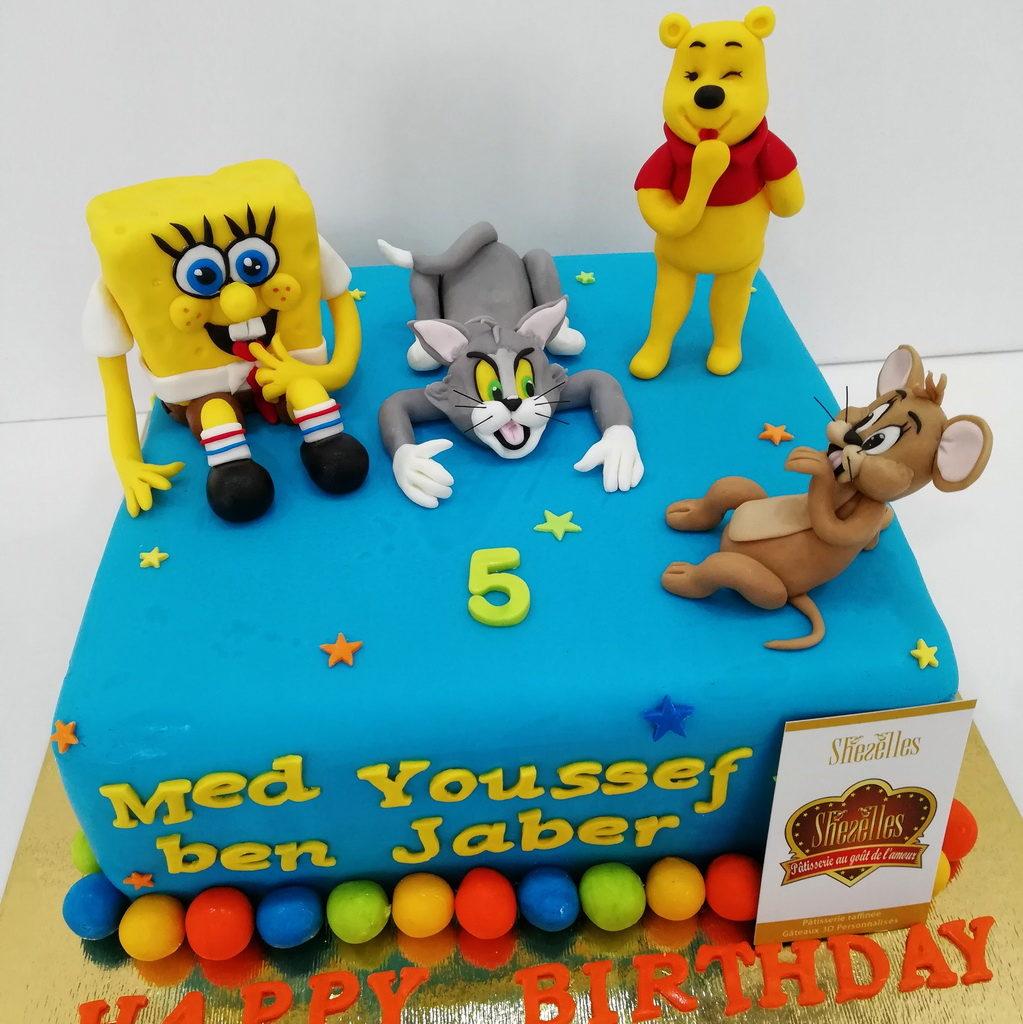 Gâteaux Winnie Ourson 3D | Pâtisserie Sheselles encequiconcerne Gateau Anniversaire Winnie L Ourson