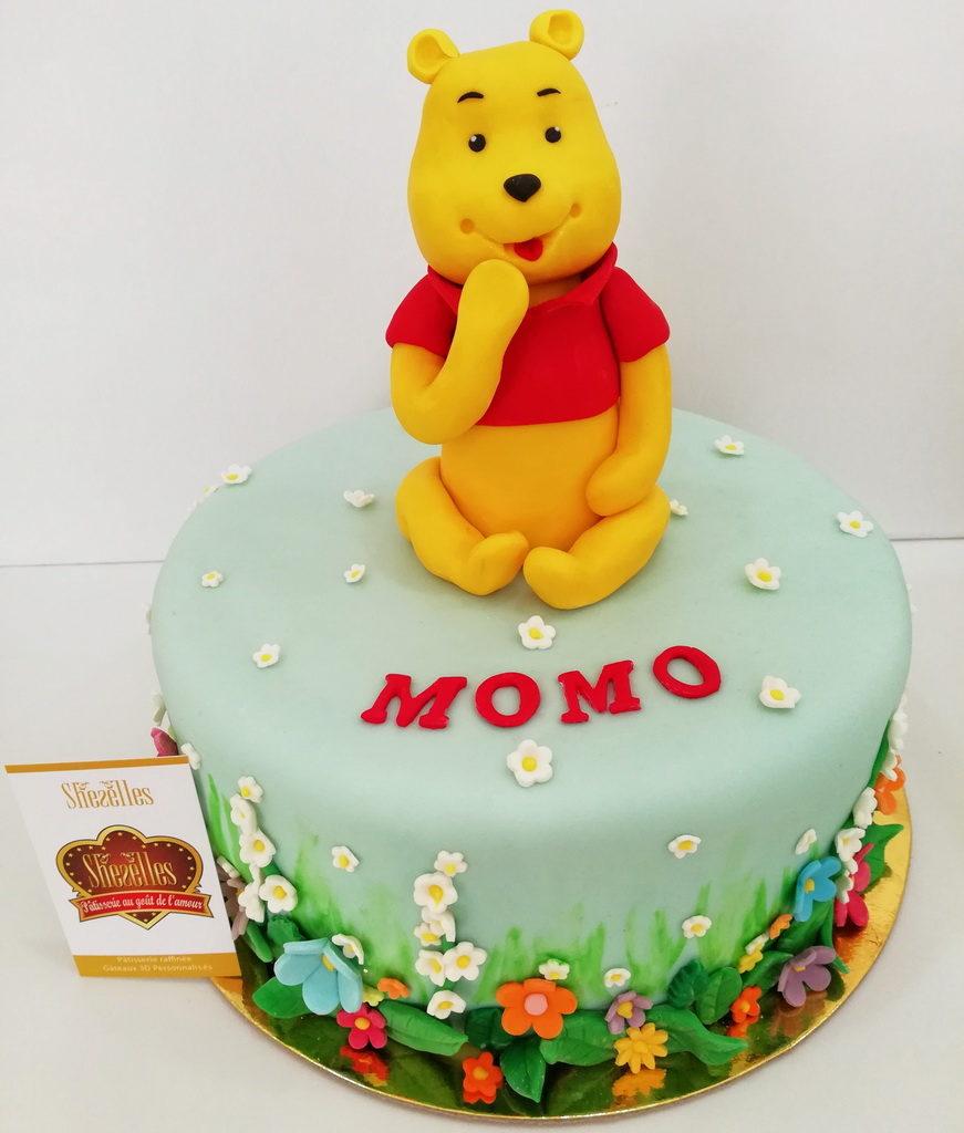 Gâteaux Winnie Ourson 3D | Pâtisserie Sheselles serapportantà Gateau Anniversaire Winnie L Ourson