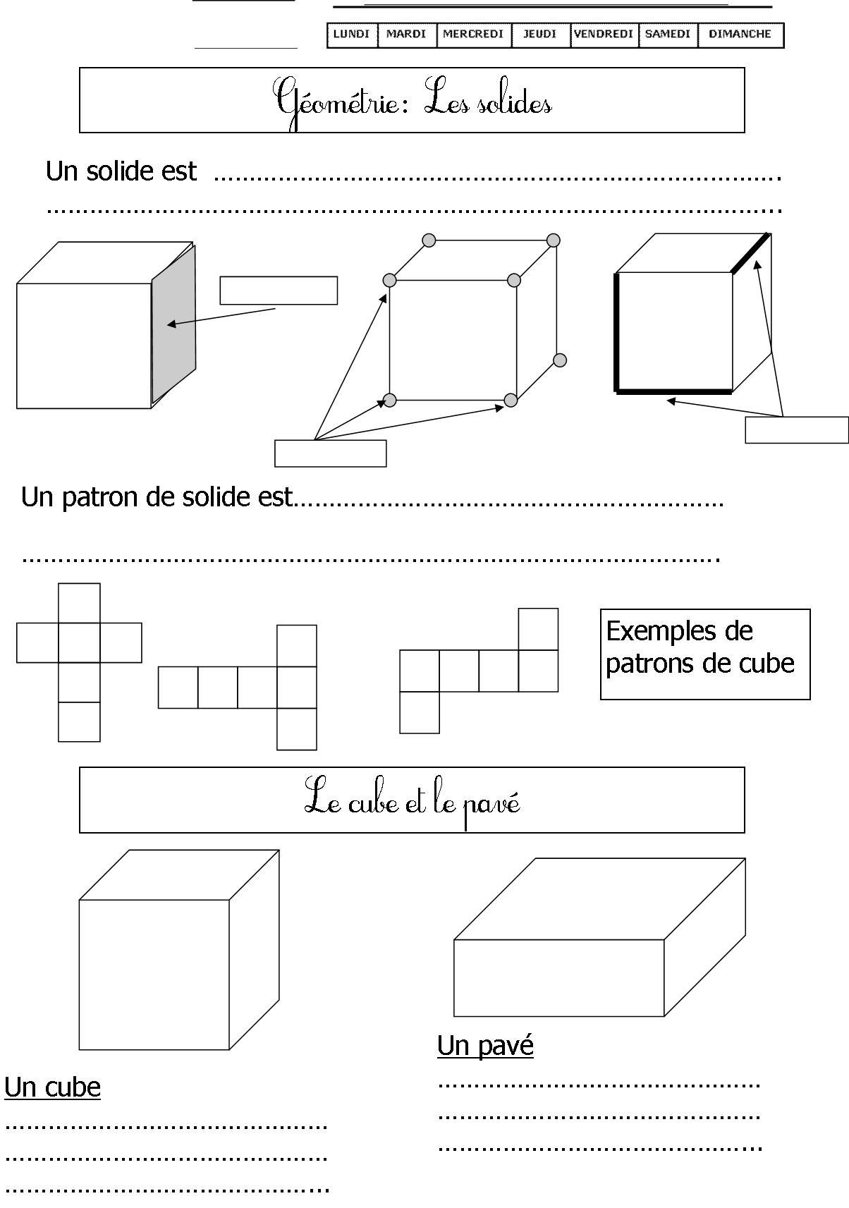 Géométrie Ce1 | Le Blog De Monsieur Mathieu serapportantà Figures Géométriques Ce1