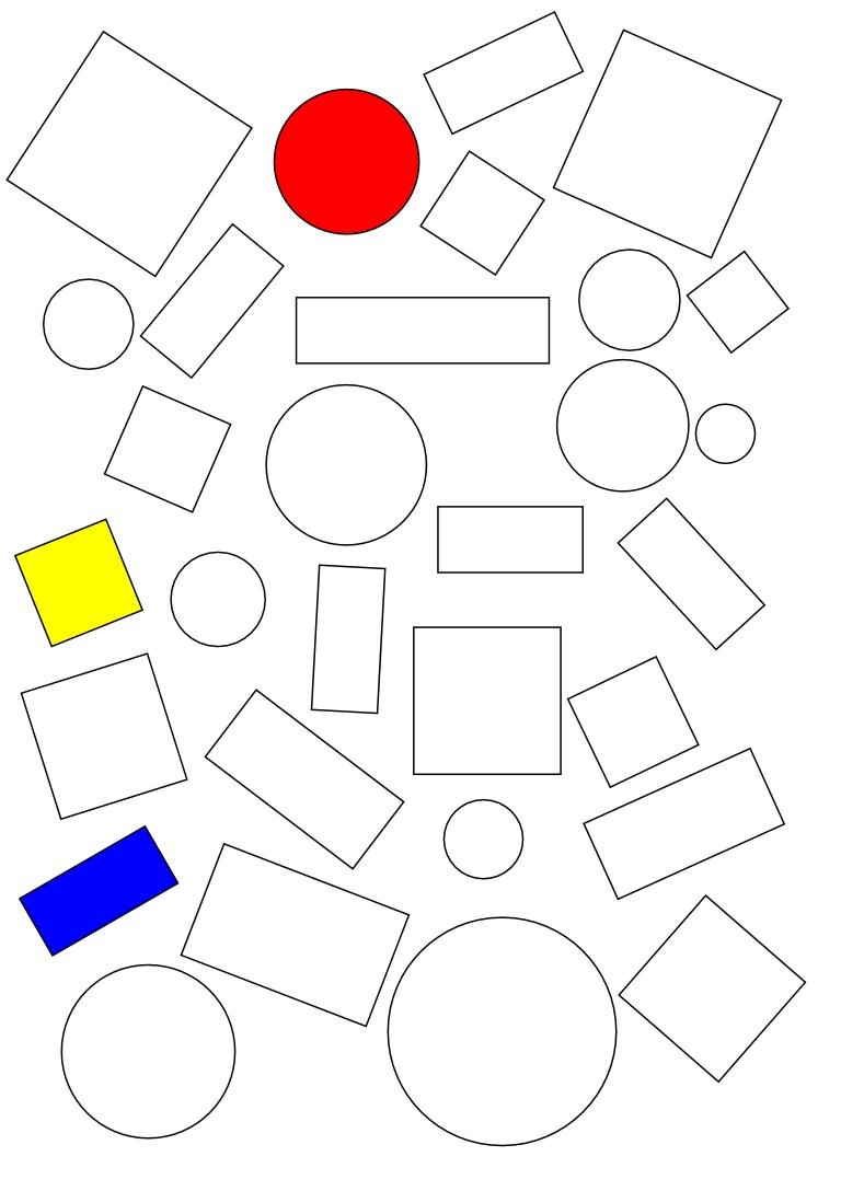 Géométrie Cp : Reconnaissance De Formes (2) – Des Outils tout Fiche Géométrie Cp