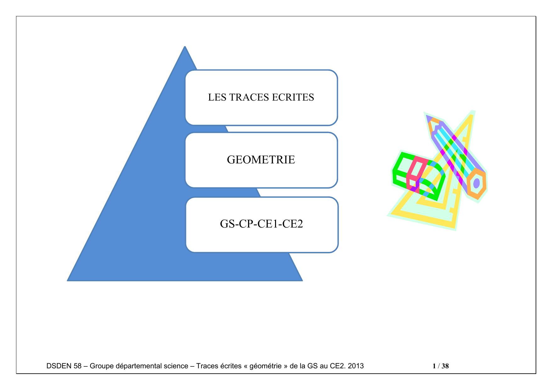 Geometrie Gs-Cp-Ce1-Ce2 - Bienvenue Sur Ariane 58 encequiconcerne Fiche Géométrie Cp
