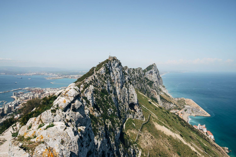 Gibraltar : Surprenante Ville Anglaise Au Sud De L'espagne destiné Grimper En Anglais