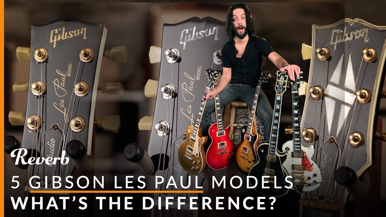 Gibson Les Paul Standard Vs Studio Vs Traditional And More: 5 Lps Explained  | Reverb encequiconcerne Les 5 Differences