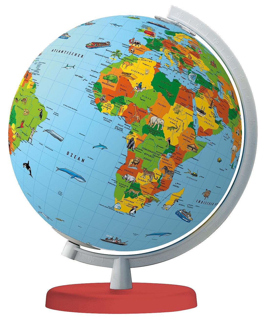 Globe Columbus Was Ist Was Junior encequiconcerne Dessin Mappemonde