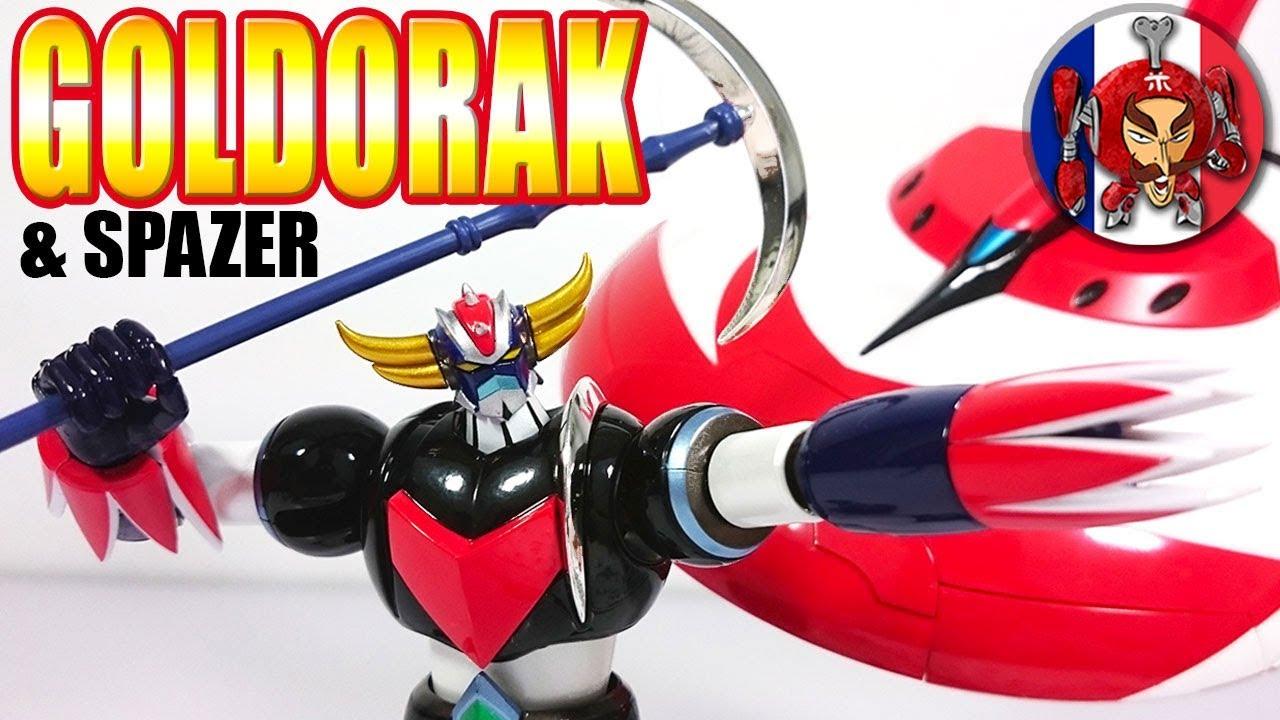 Goldorak Grendizer + Spazer - Super Robot Chogokin Review à Photos Goldorak Gratuit